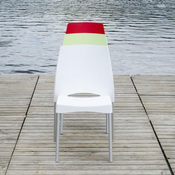 Židle Breeze Sand, vhodná do interiéru i exteriéru