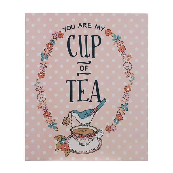 Nástěnná cedule Cup of Tea
