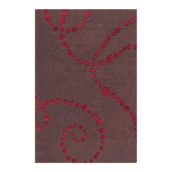 Vlněný koberec Michele, 80x80 cm