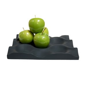 Praktická podložka na ovoce Mode Crate, černá