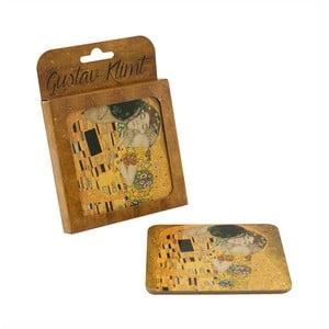 Sada 4 podtácků HOME ELEMENTS Klimt