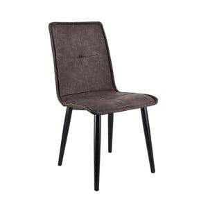 Tmavě šedá jídelní židle Moycor Melissa