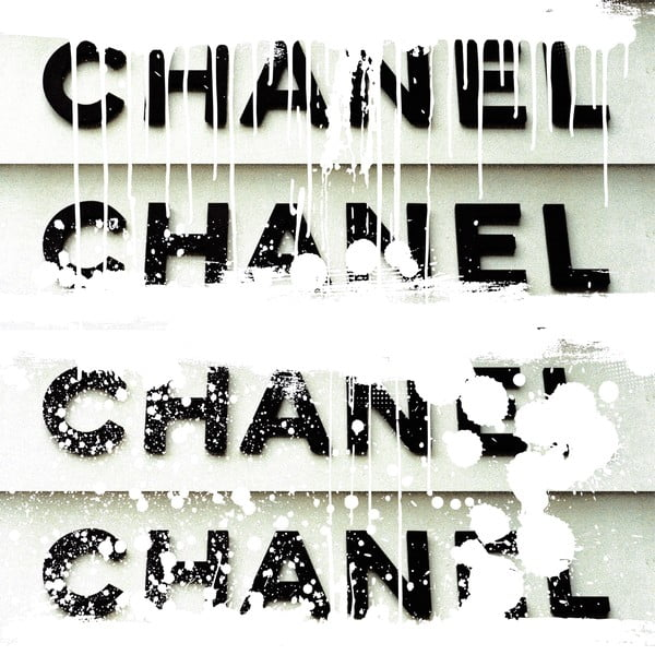 Obraz Couture Generation White, 91x91 cm