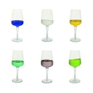 Sada 6 sklenic na víno Villa d'Este Miami Marrakesh
