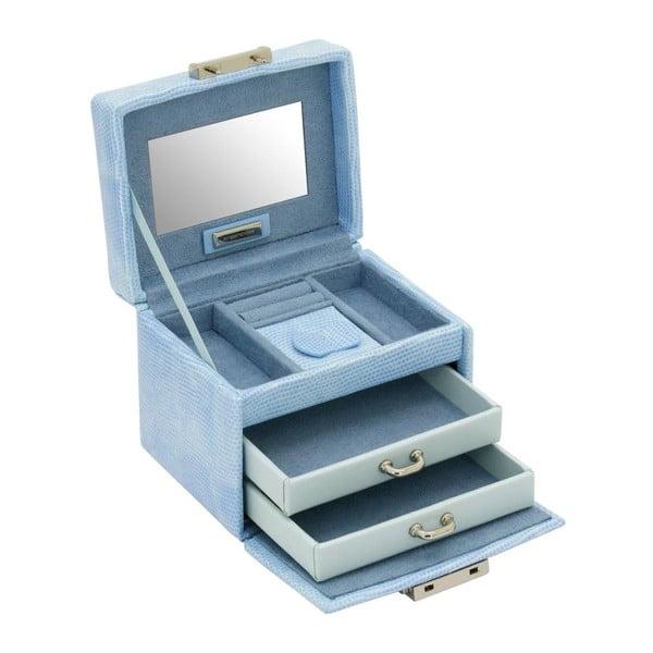 Šperkovnice Candy Light Blue, 12x9,5x9 cm