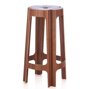 Barová židle Bloom 82 cm, ořech