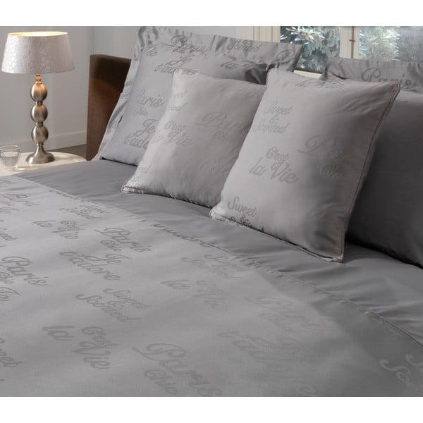 Povlak na polštář Paris Grey, 50x50 cm