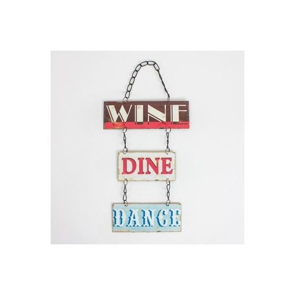 Vintage cedule Wine Dine Dance