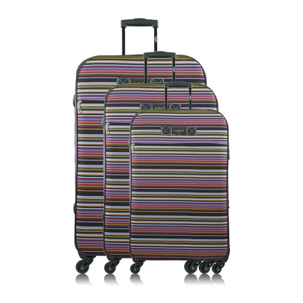 Sada 3 cestovních kufrů na kolečkách INFINITIF Love
