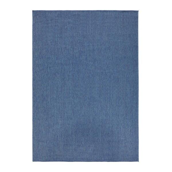 Modrý oboustranný koberec vhodný i na ven bougari Miami, 120x170 cm