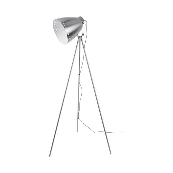 Kovová stojaca lampa v sivej farbe Leitmotic Luxury