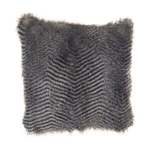 Chlupatý povlak na polštář Apolena Lena, šedý