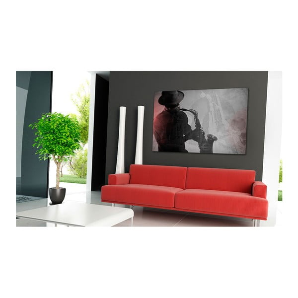 Obraz na plátně Artgeist Urban Jazz, 90 x 60 cm