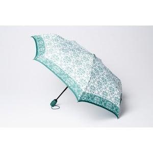 Skládací deštník Damask, zelený