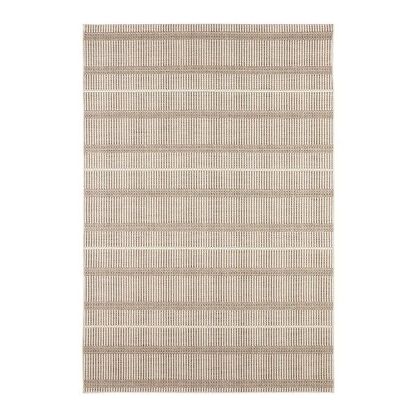 Krémový koberec vhodný i na ven Elle Decor Brave Laon, 120 x 170 cm