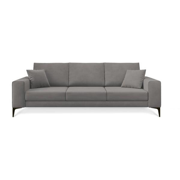 Canapea cu 3 locuri Cosmopolitan Design Lugano, gri