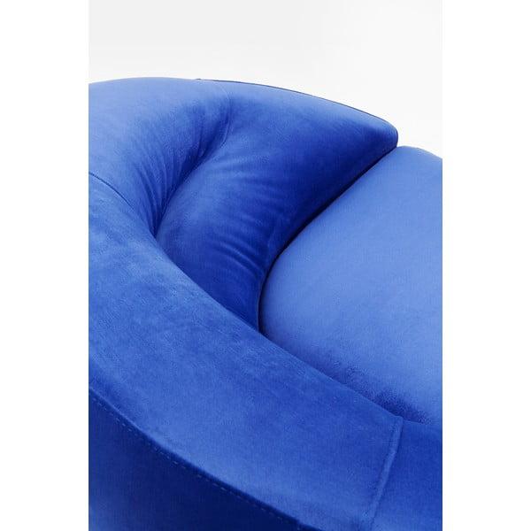 Modré křeslo Kare Design Area