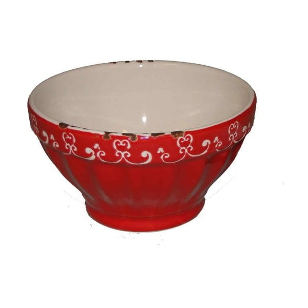 Bol din ceramică Antic Line Red Small, ⌀ 9,5 cm