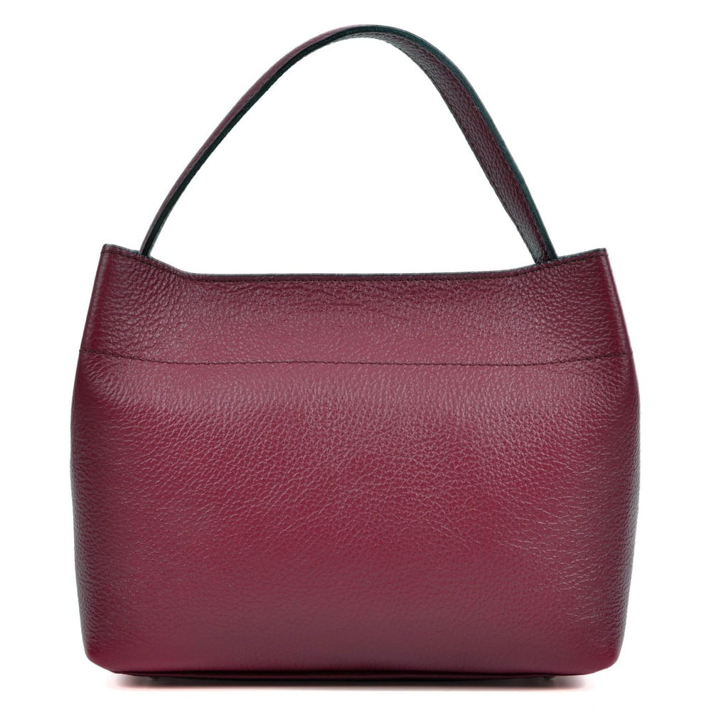 ... Vínová kožená kabelka Isabella Rhea Lock Vino ... 62301a981bb