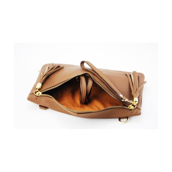 Kožená kabelka Coco Cervo/Brown