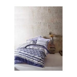 Bavlněné povlečení s prostěradlem na dvoulůžko Mesa Cassidy,180 x 230 cm
