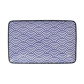 Farfurie dreptunghiulară Tokyo Design Studio Nippon Wave, 21 x 13,5 cm de la Tokyo Design Studio