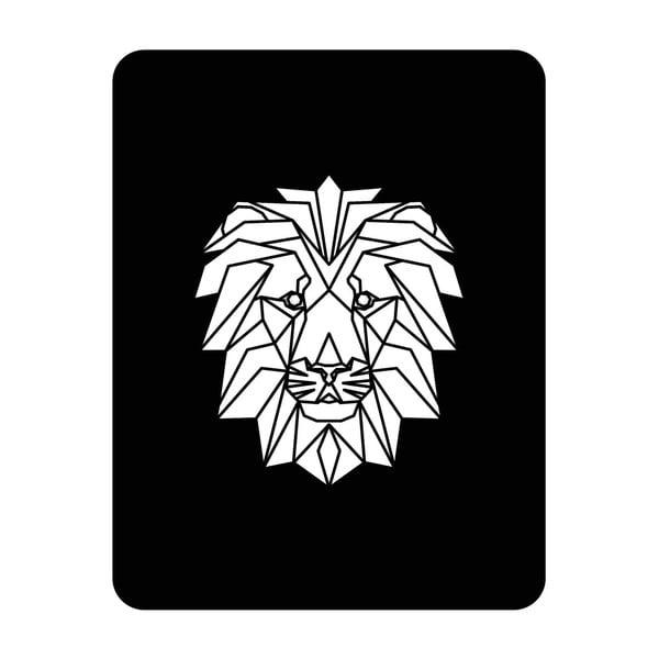 Ścienna dekoracja świetlna Lion, 67x82 cm