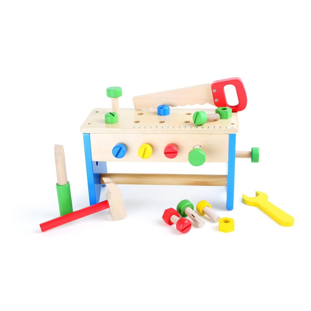 Set dřevěného nářadí na hraní Legler Toolbox