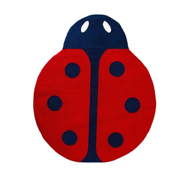 Dětský koberec Mavis Ladybug, 100x150 cm