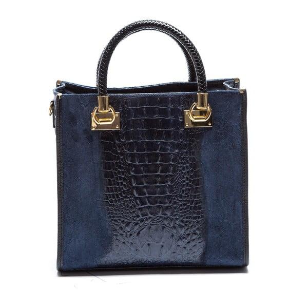 Modrá kožená kabelka Sofia Cardoni Dona