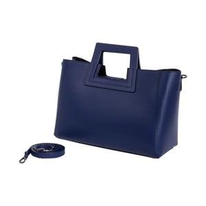 Modrá kabelka z pravé kůže Andrea Cardone Pietro