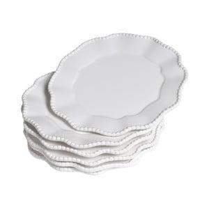 Sada talířů Parma, 6 ks, bílé