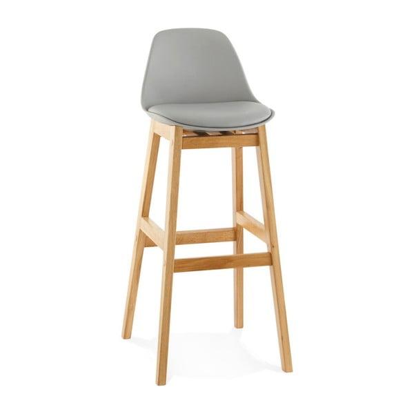 Šedá barová židle Kokoon Elody, výška102cm