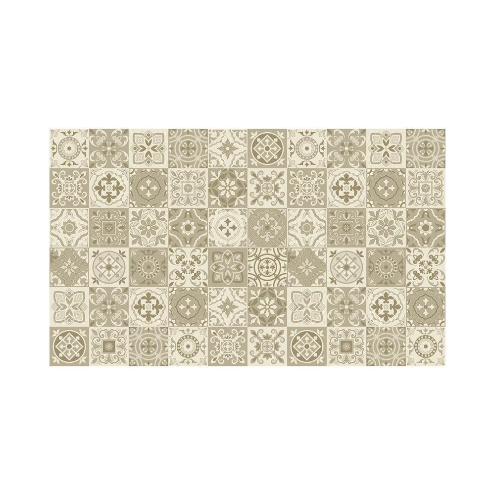 Sada 60 nástěnných samolepek Ambiance Wall Decal Cement Tiles Fortunato, 15 x 15 cm