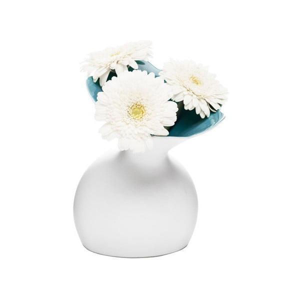 Modrá váza Sagaform Lily