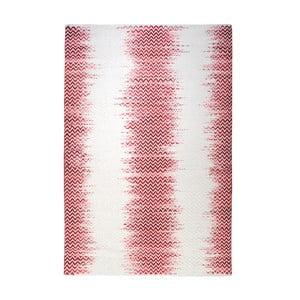 Ručně vyráběný koberec The Rug Republic Fentom Ivory Red, 160 x 230 cm
