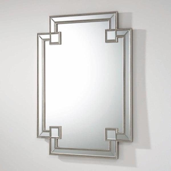 Oglindă de perete cu detalii argintii Thai Natura, lungime 121 cm