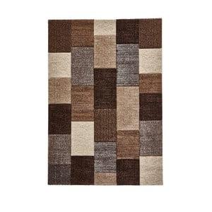 Béžovošedý koberec Think Rugs Brooklyn, 120x170cm