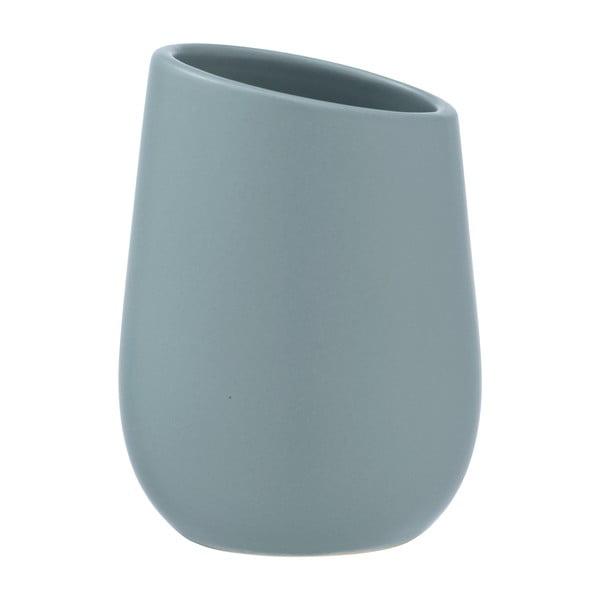 Recipient din ceramică pentru periuțe de dinți Wenko Badi, albastru