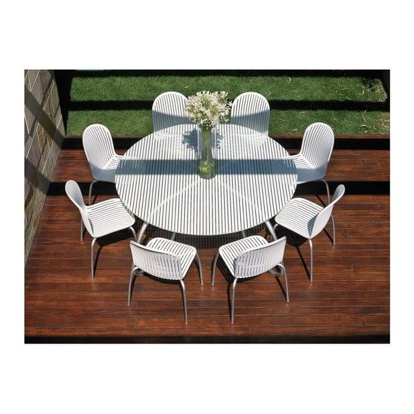 Židle Ninfea Dinner Bianco, bílá