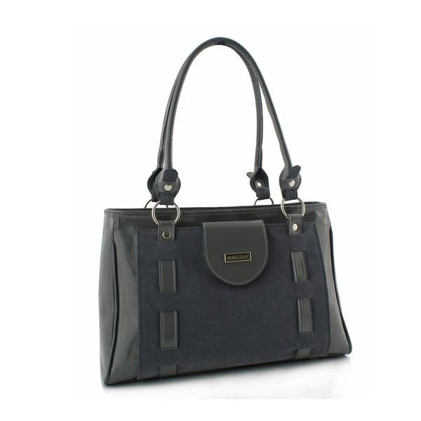 Kožená kabelka Boscollo Grey 3306