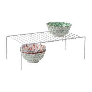 Etajeră pentru bucătărie Compactor Rona, 42,7 x 22,5 x 14,7 cm, alb