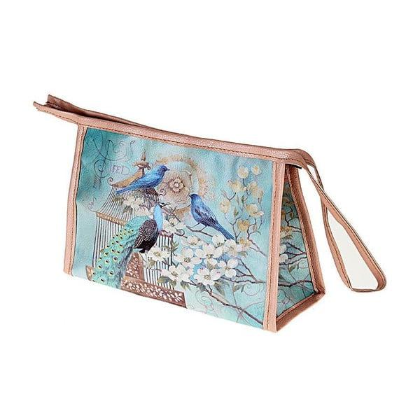 Kosmetická taška Peacock