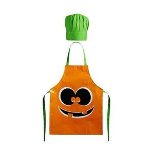 Dětská zástěra s čepicí Pumpkin