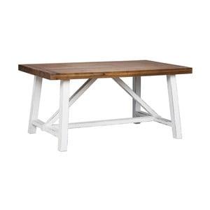 Jídelní stůl z recyklovaného borovicového dřeva Folke Inez, 160x95cm