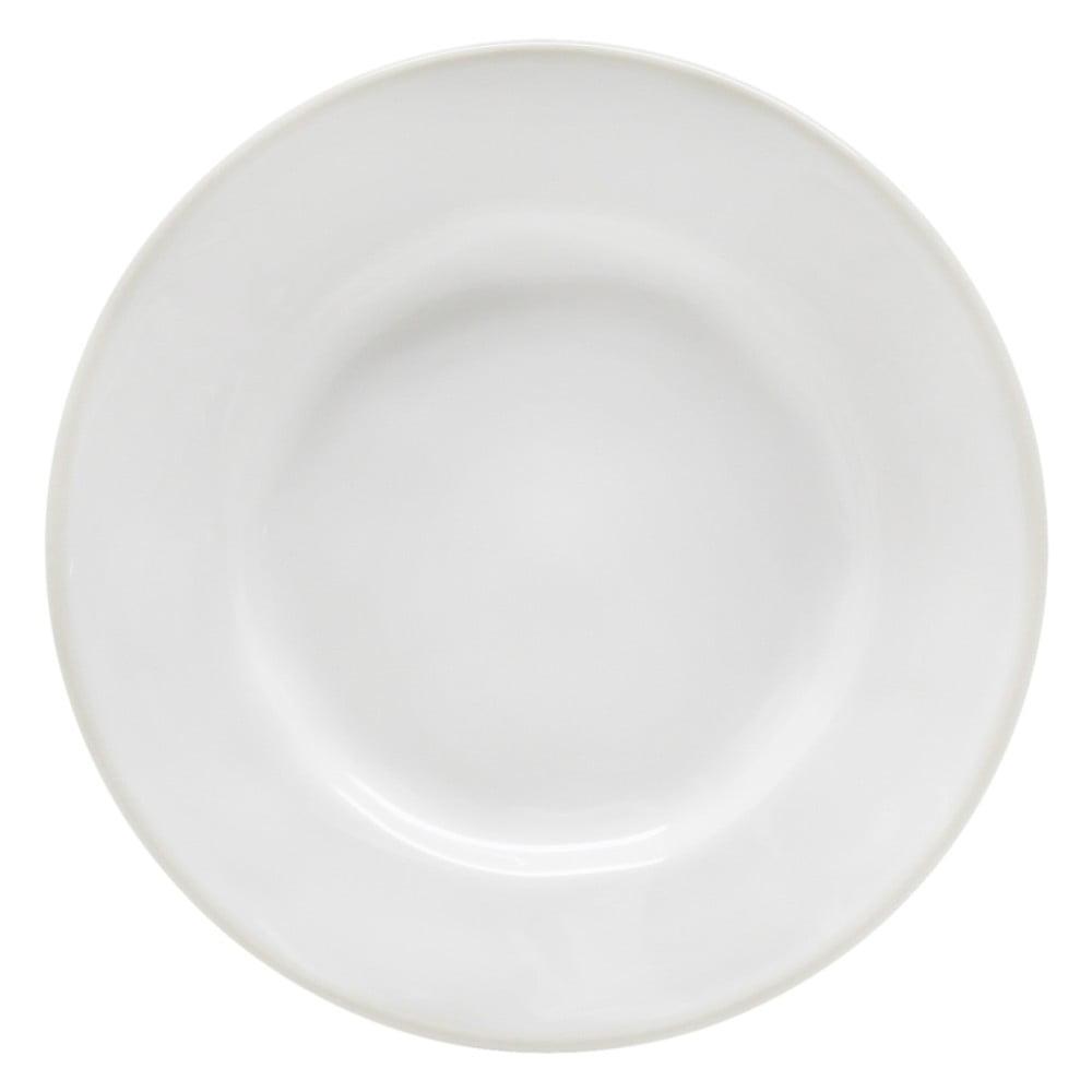 Bílý kameninový talíř Costa Nova Astoria, ⌀15cm