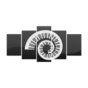 Vícedílný obraz La Maison Des Couleurs PianoSpin