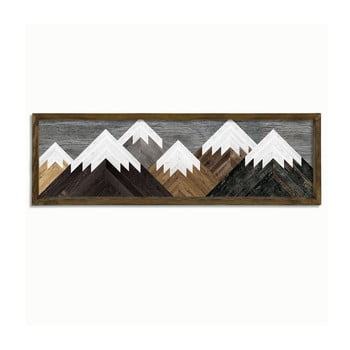 Tablou de perete Mountains, 120 x 35 cm