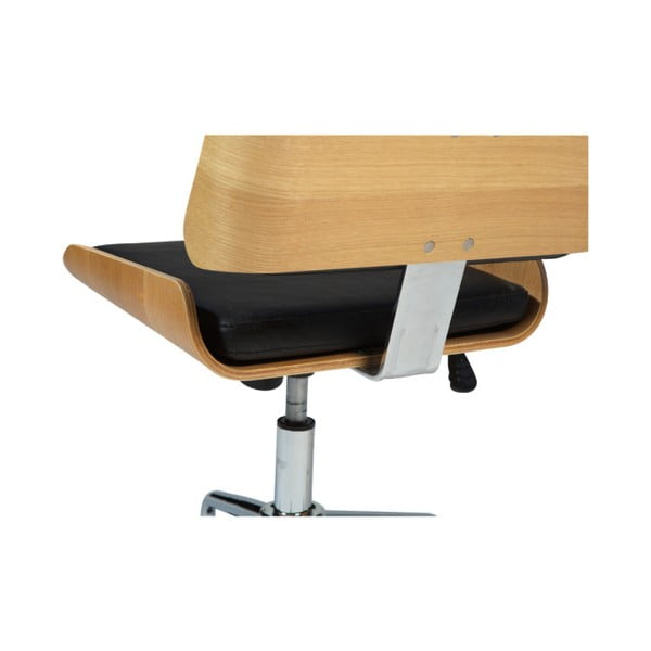 Černá kancelářská židle DAN-FORM Denmark Retro