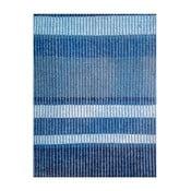 Modrý ručně tkaný vlněný koberec Linie Design Romina, 170x240cm